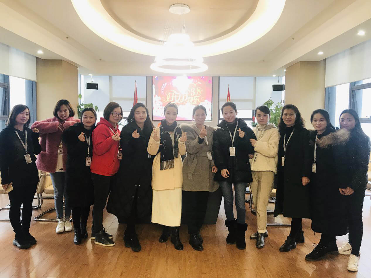 雷竞技下载禹泰德雷竞技下载有限公司热烈庆祝 三·八国际妇女节