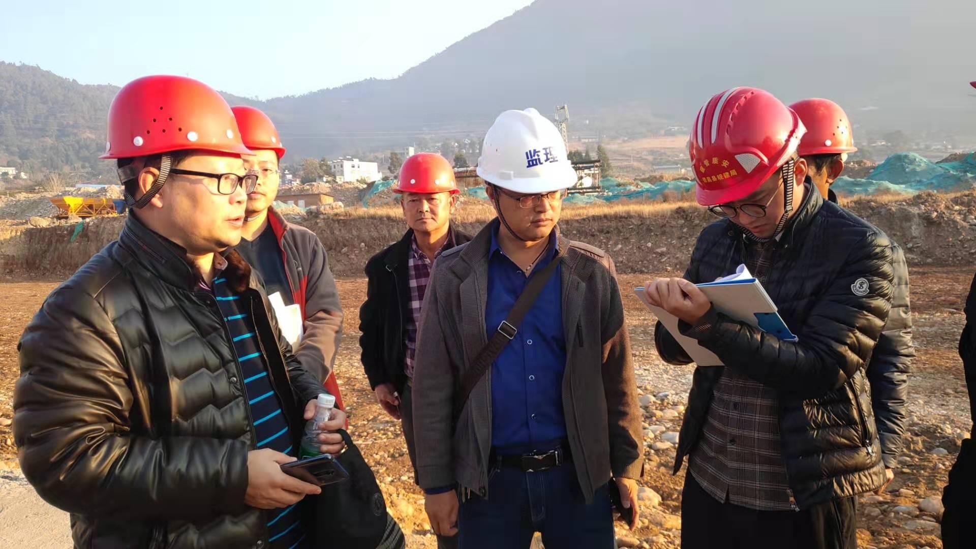 品新•德昌供港果蔬产业园项目基础验槽顺利通过